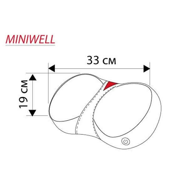 Массажная подушка Casada, Miniwell