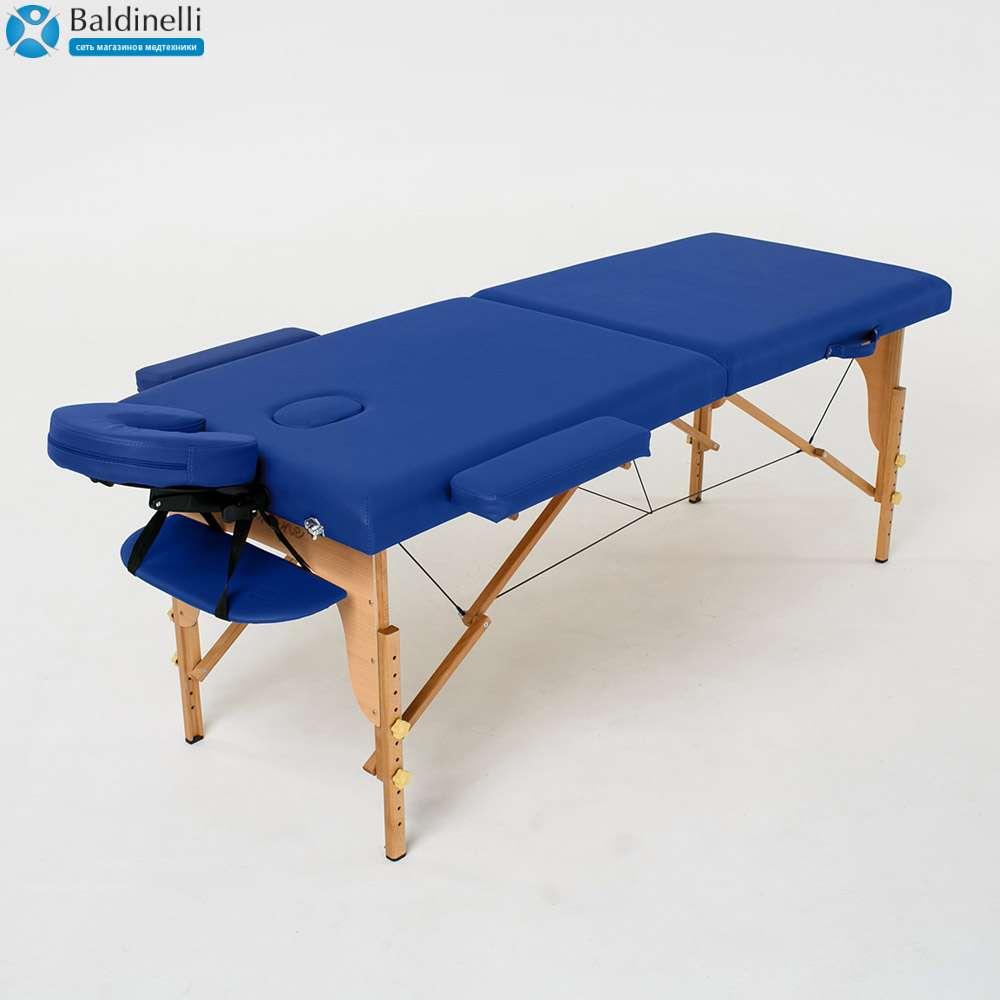 Складной 2-х секционный массажный стол RelaxLine Lagune, 50100