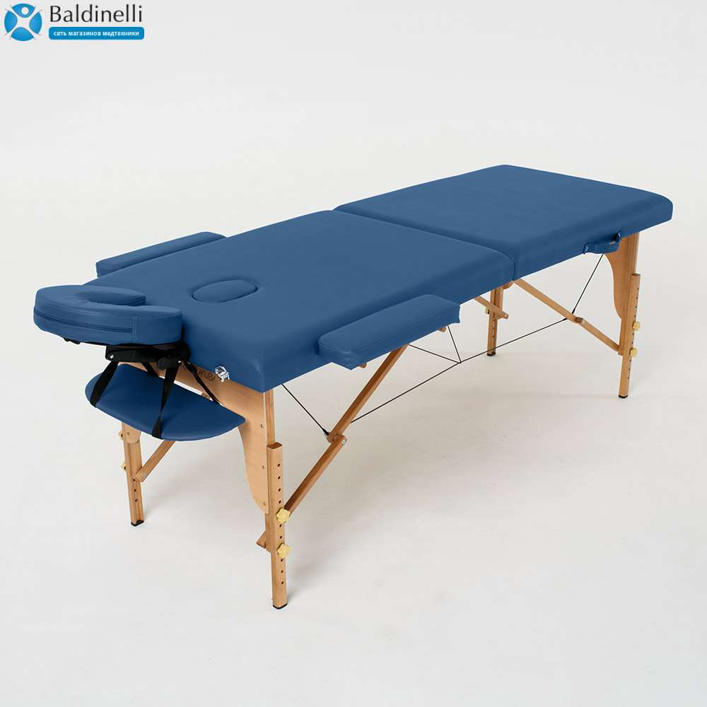 Складной 2-х секционный массажный стол RelaxLine Lagune, 50101
