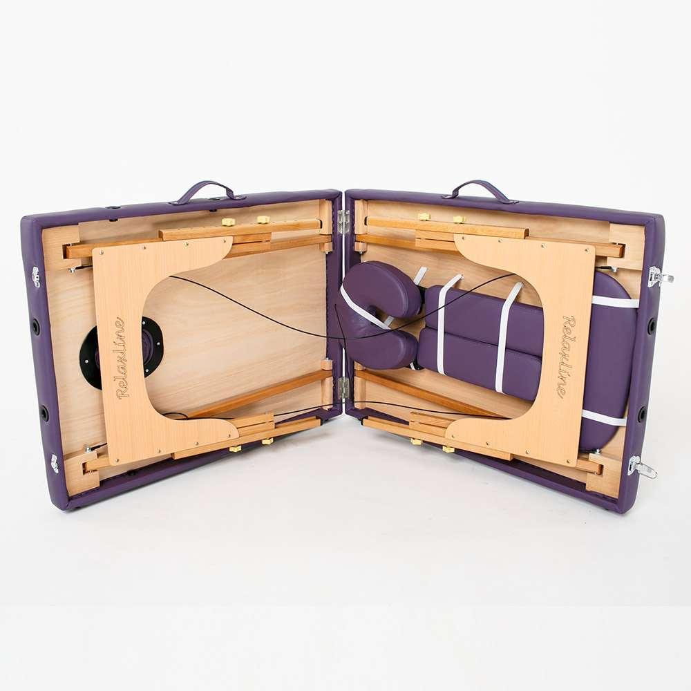 Складной 2-х секционный массажный стол RelaxLine Lagune, 50103