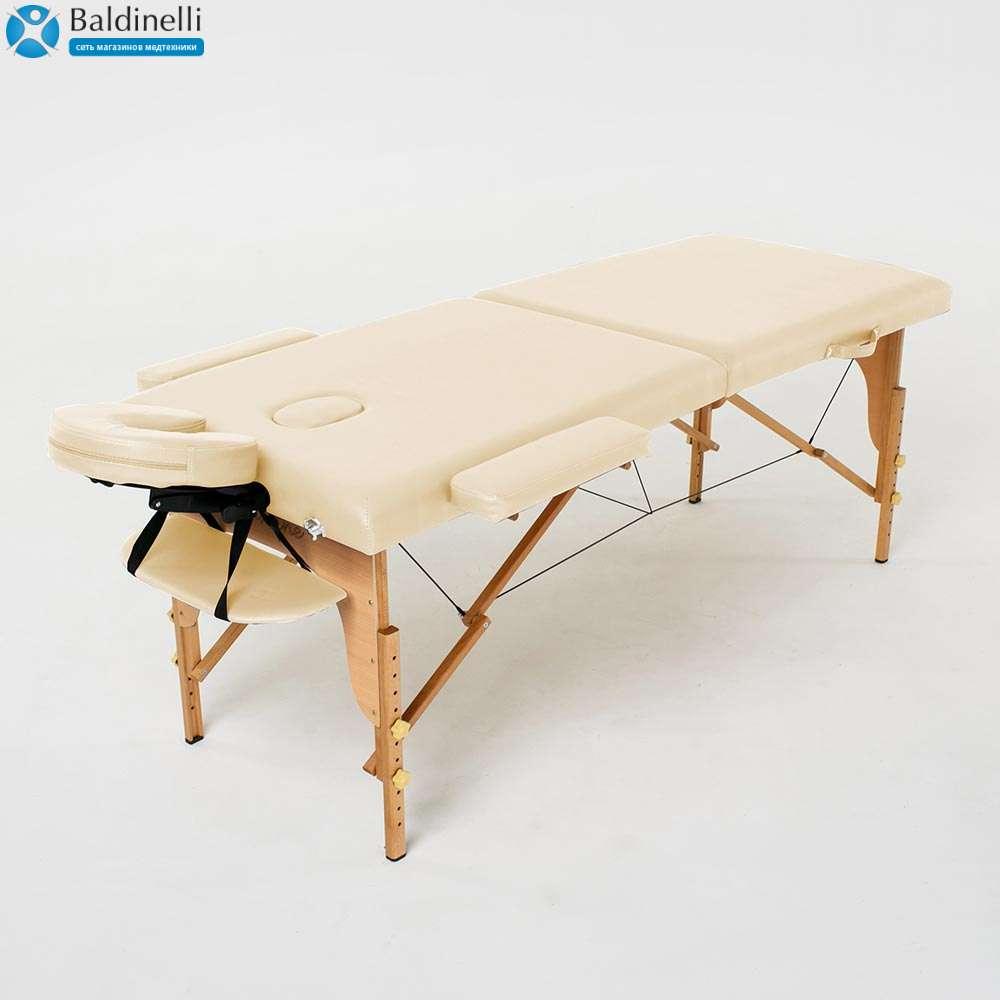 Складной 2-х секционный массажный стол RelaxLine Lagune, 50106