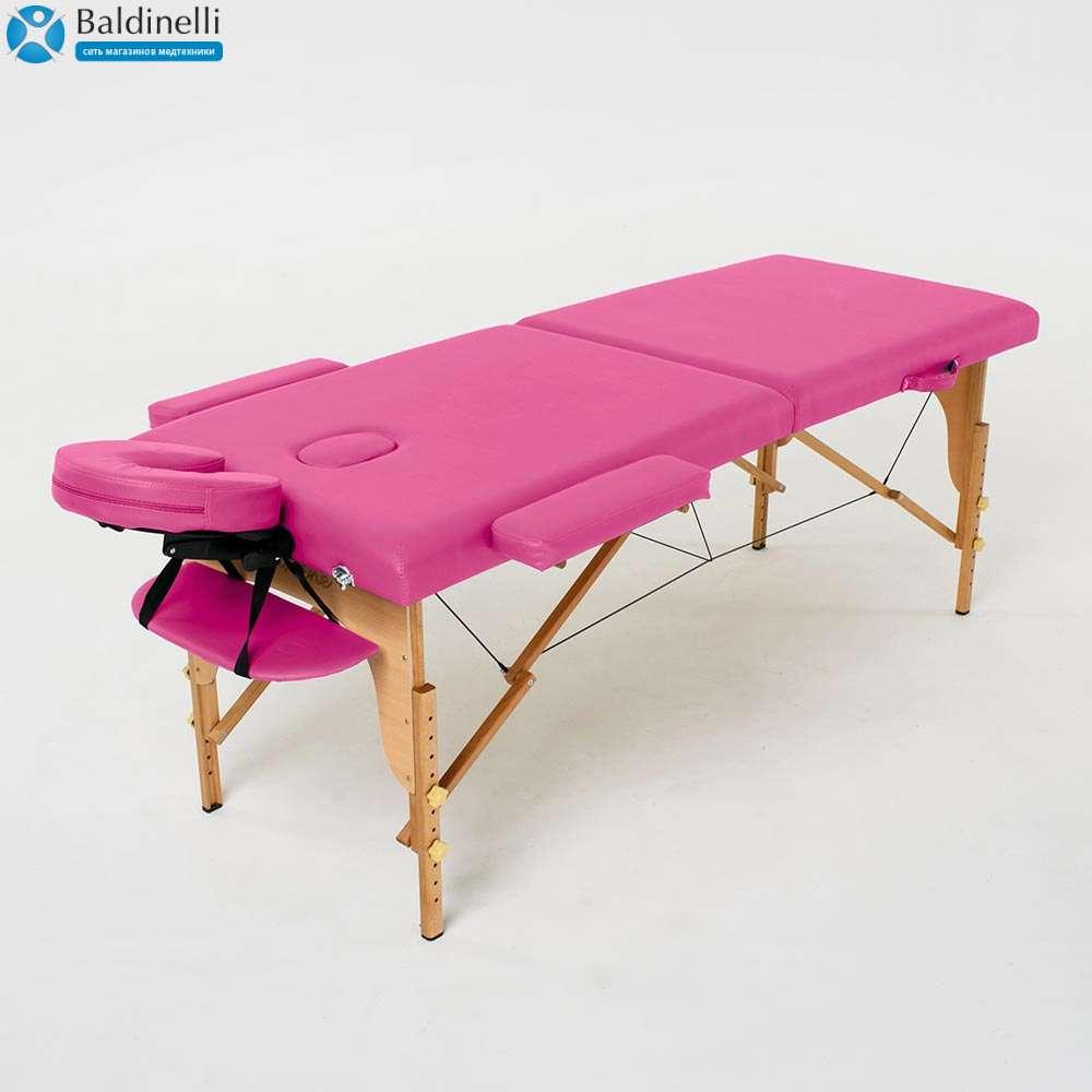 Складной 2-х секционный массажный стол RelaxLine Lagune, 50107