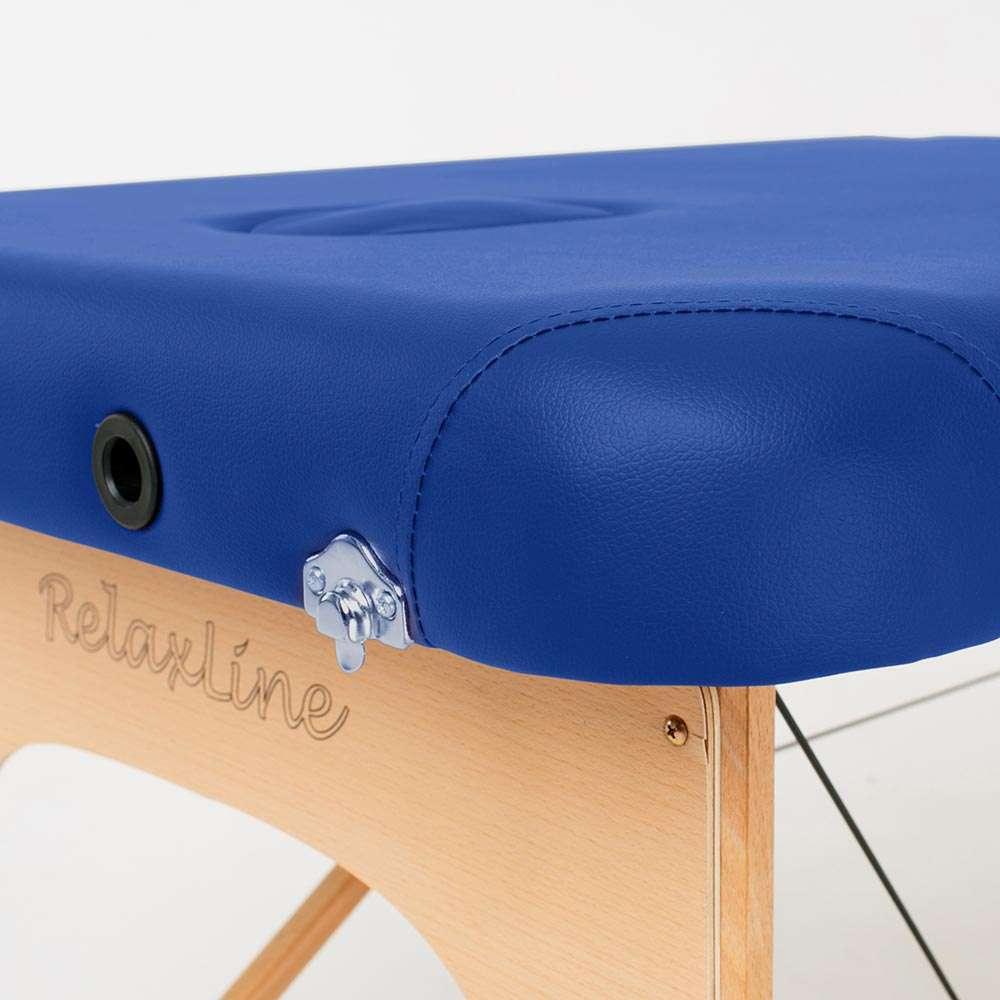 Складной 2-х секционный массажный стол RelaxLine Bali, 50108