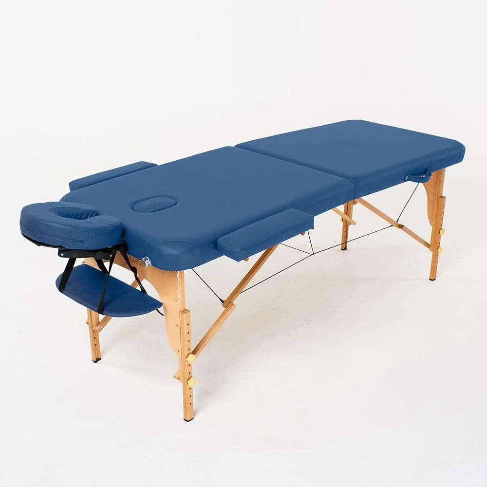 Складной 2-х секционный массажный стол RelaxLine Bali, 50109