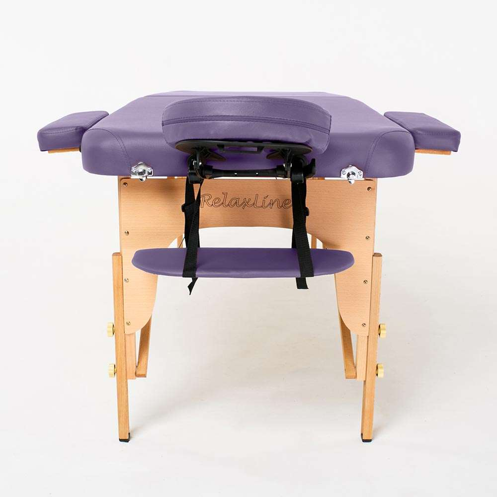 Складной 2-х секционный массажный стол RelaxLine Bali, 50110