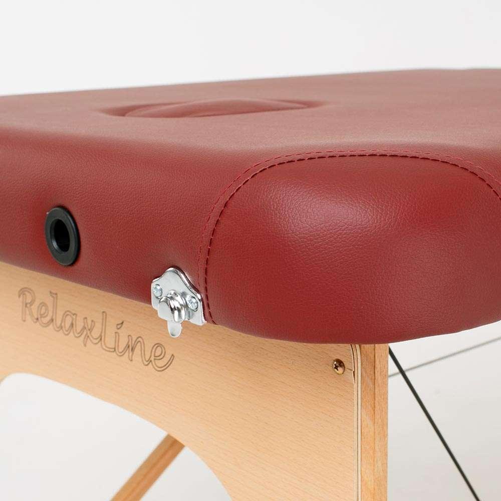 Складной 2-х секционный массажный стол RelaxLine Bali, 50111