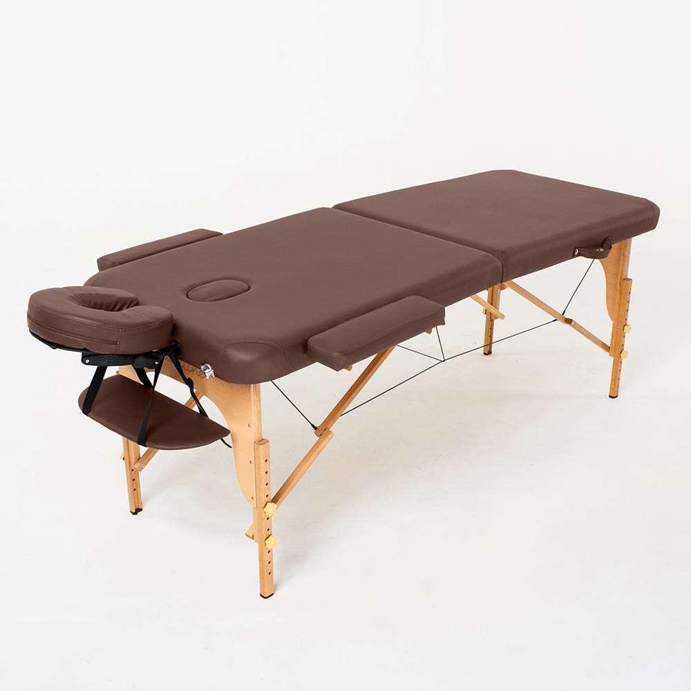 Складной 2-х секционный массажный стол RelaxLine Bali, 50113