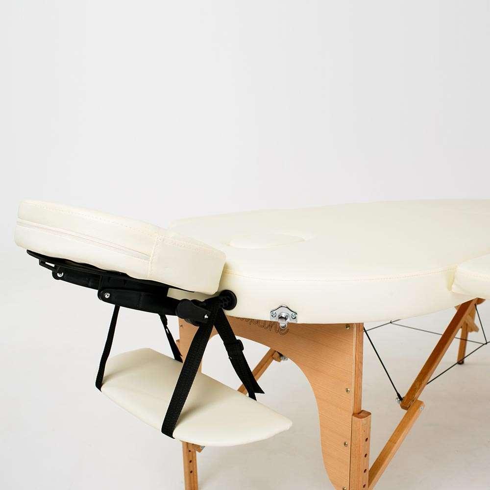 Складной 2-х секционный массажный стол RelaxLine Sri Lanka, 50115
