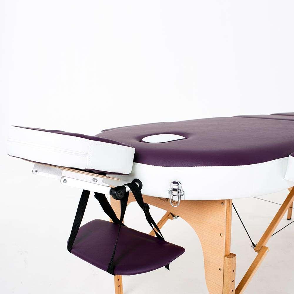 Складной 3-х секционный массажный стол RelaxLine Mirage, 50116