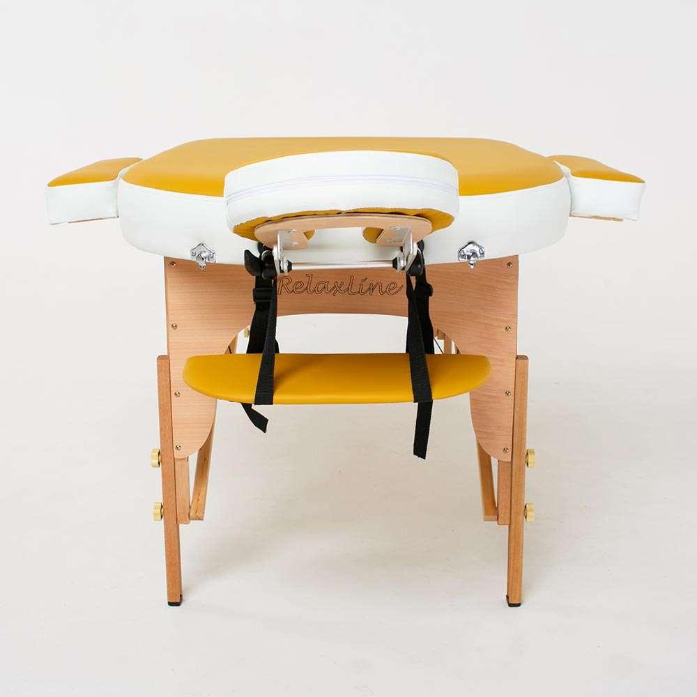 Складной 2-х секционный массажный стол RelaxLine Sahara, 50117