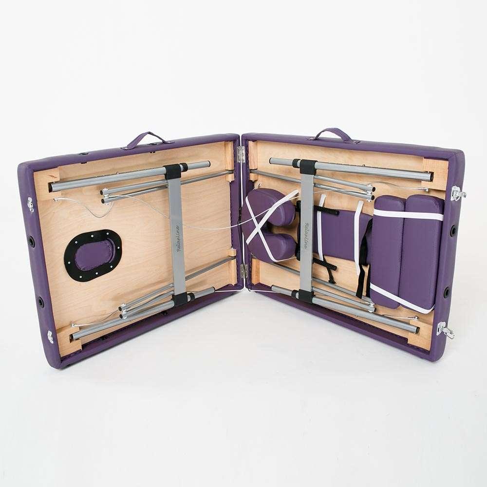 Складной 2-х секционный массажный стол RelaxLine Florence, 50119