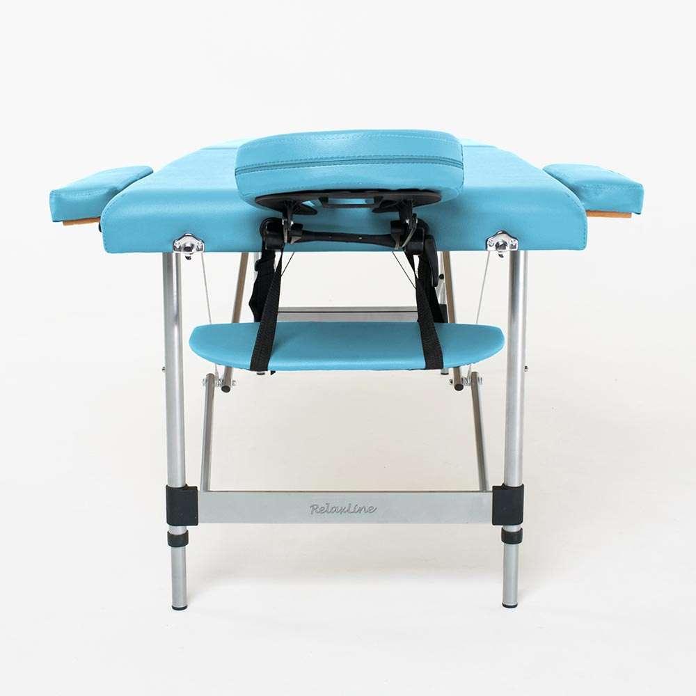 Складной 2-х секционный массажный стол RelaxLine Florence, 50120