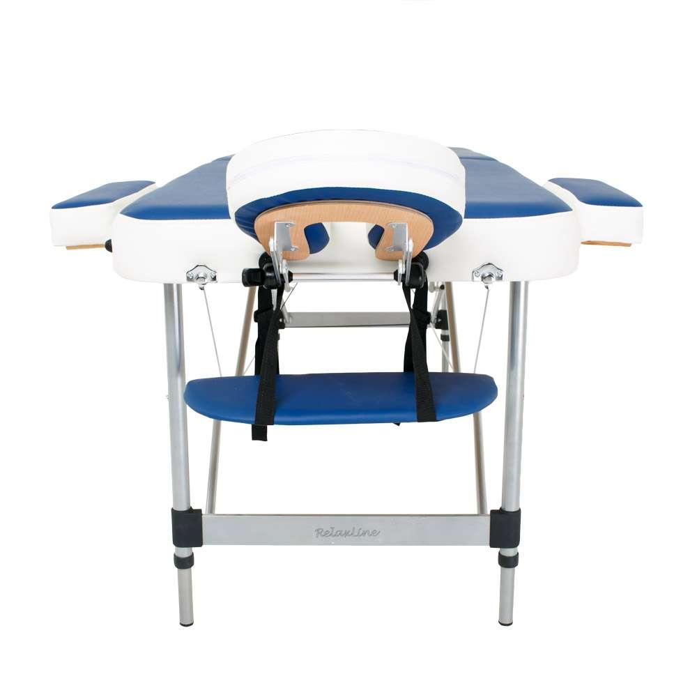 Складной 2-х секционный массажный стол RelaxLine Holiday, 50121