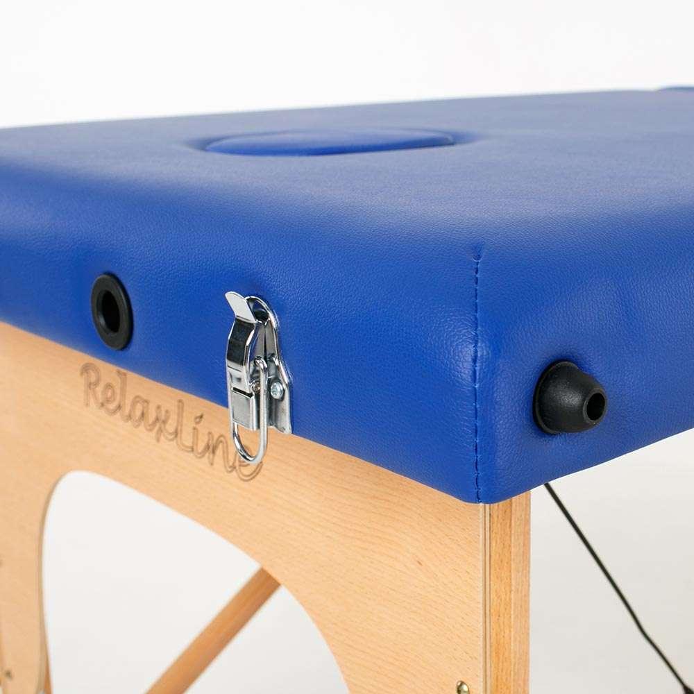 Складной 3-х секционный массажный стол RelaxLine Barbados, 50126