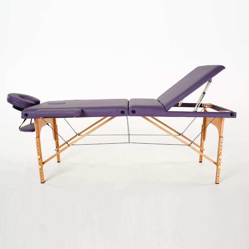 Складной 3-х секционный массажный стол RelaxLine Barbados, 50127