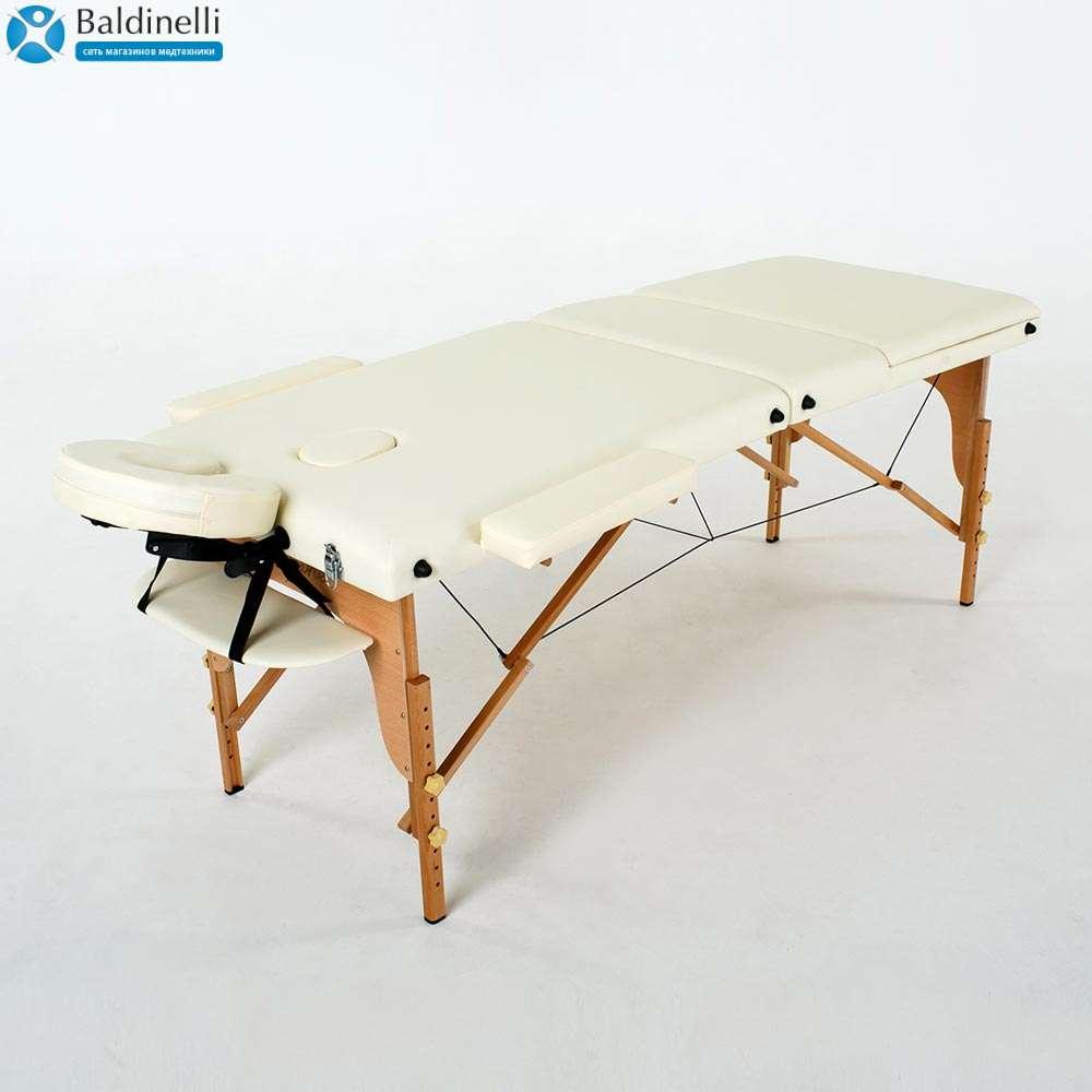 Складной 3-х секционный массажный стол RelaxLine Barbados, 50128