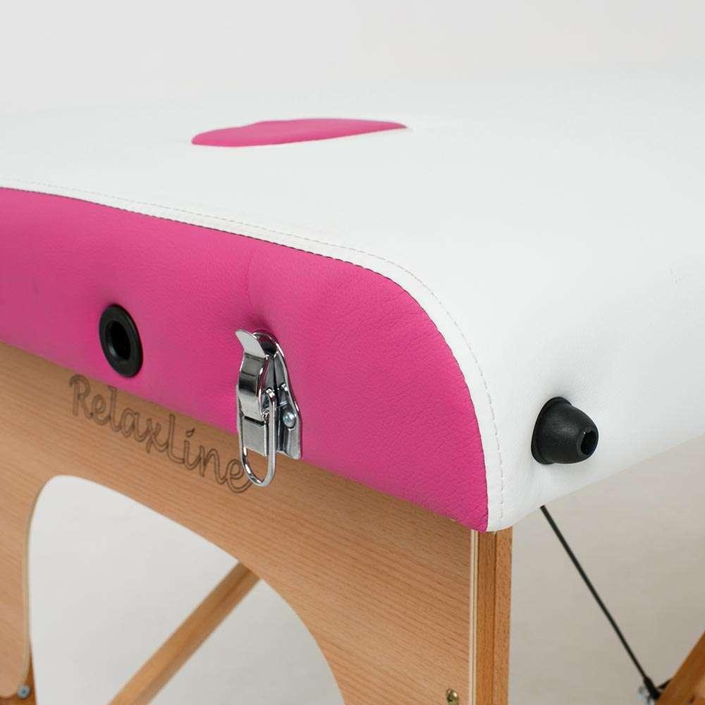 Складной 3-х секционный массажный стол RelaxLine Colibri, 50134