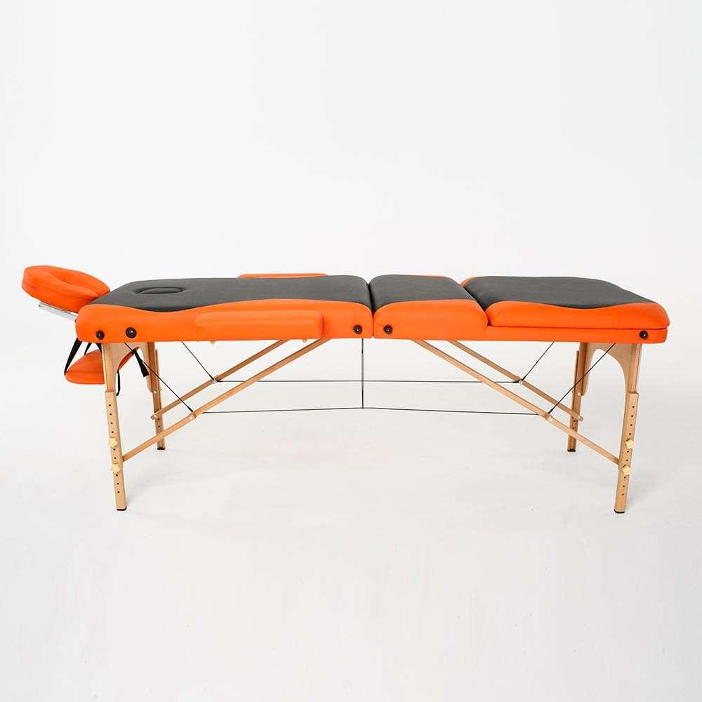Складной 3-х секционный массажный стол RelaxLine Titan, 50136