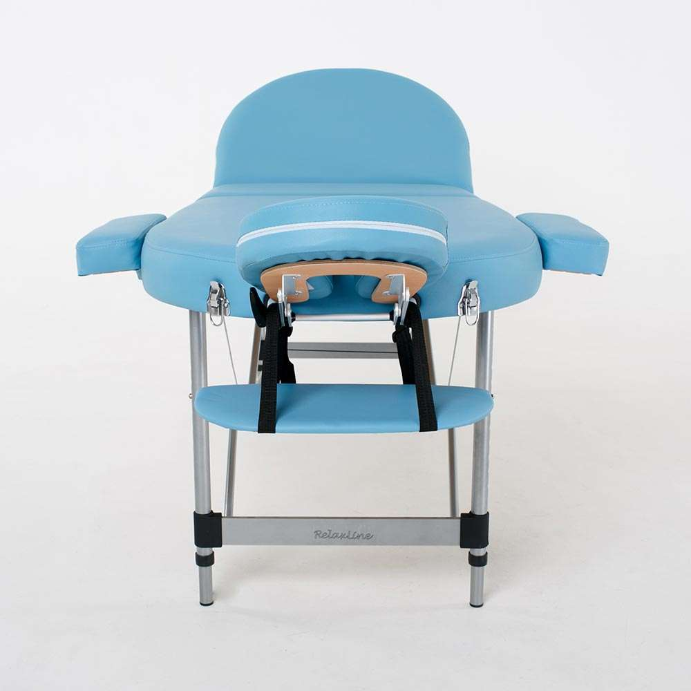 Складной 3-х секционный массажный стол RelaxLine Oasis, 50138
