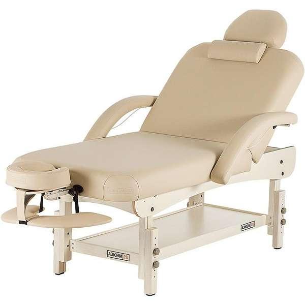 Стационарный 2-х-секционный массажный стол Us Medica, Olimp