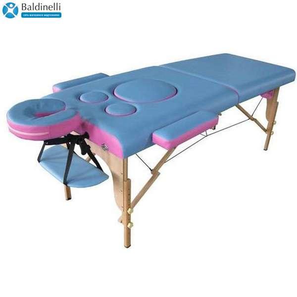Складной 2-х-секционный массажный стол Us Medica, Panda
