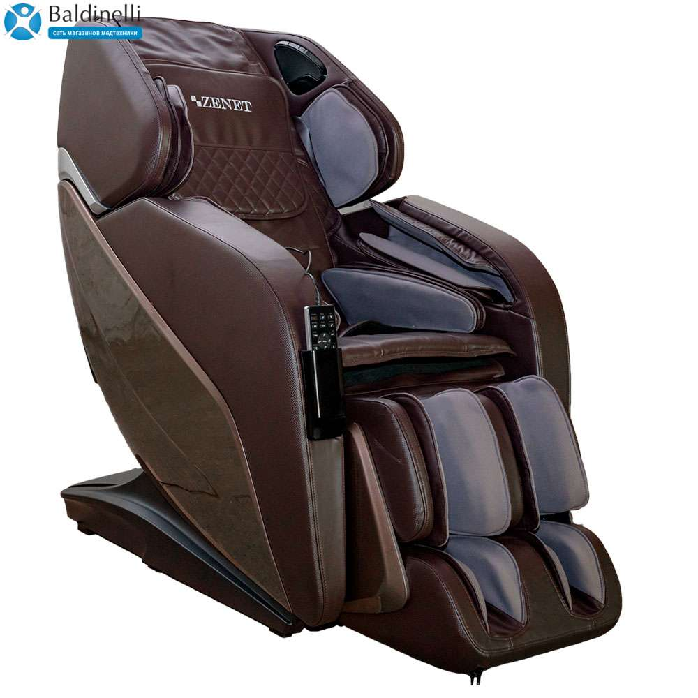 Массажное кресло «ZENET» ZET-1690 (коричневое)