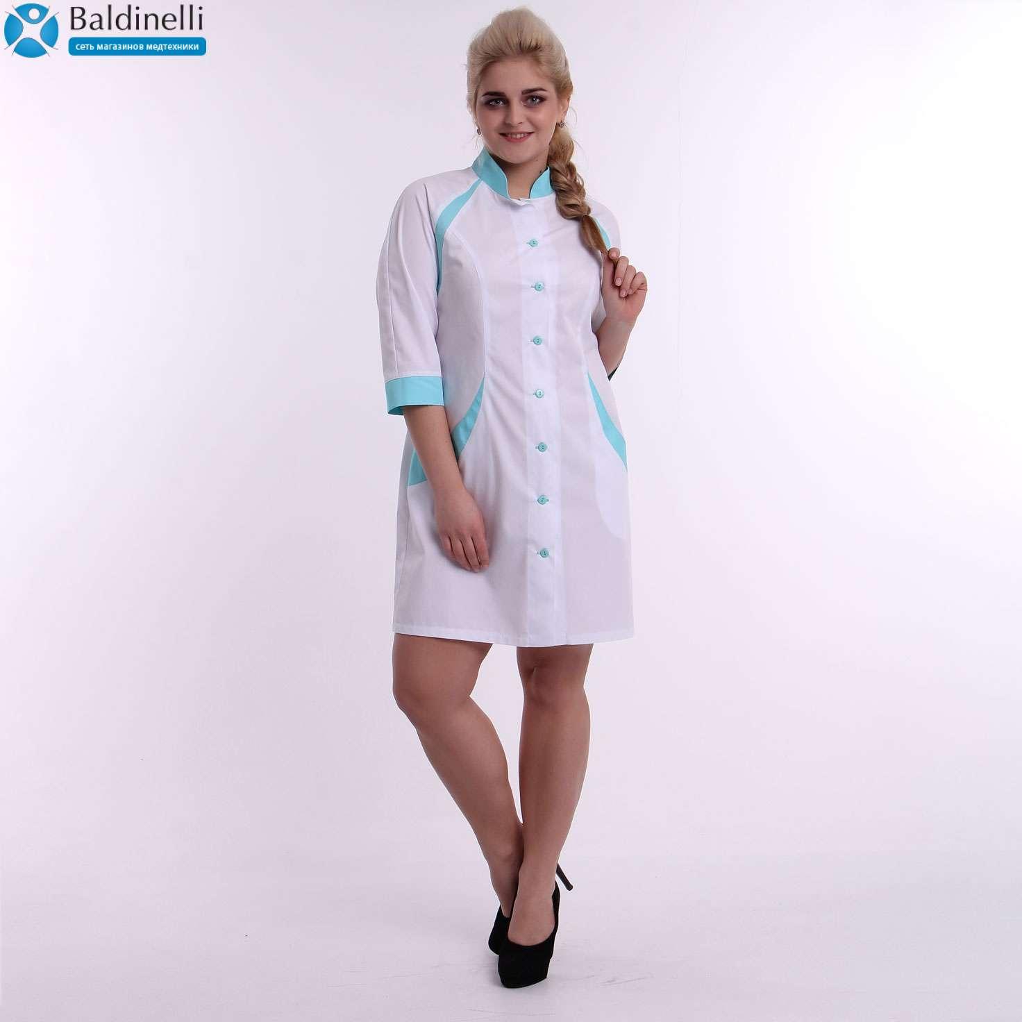 Медицинский халат, ТМ ZORYANA «Глория»