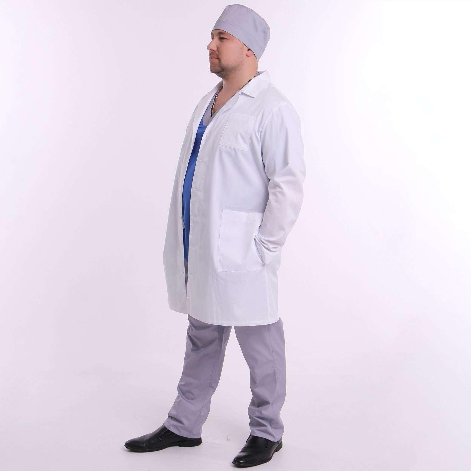 Медицинский халат, ТМ ZORYANA «Ролан»