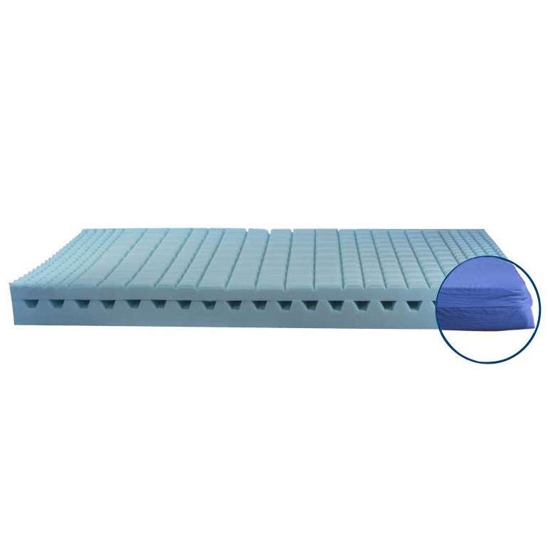 Матрас для медицинских кроватей Basic Reflex (Франция) + чехол