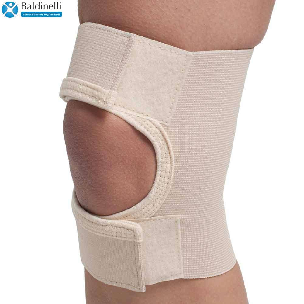 Бандаж коленного сустава с открытой чашечкой, р. 5-6, 3002-2
