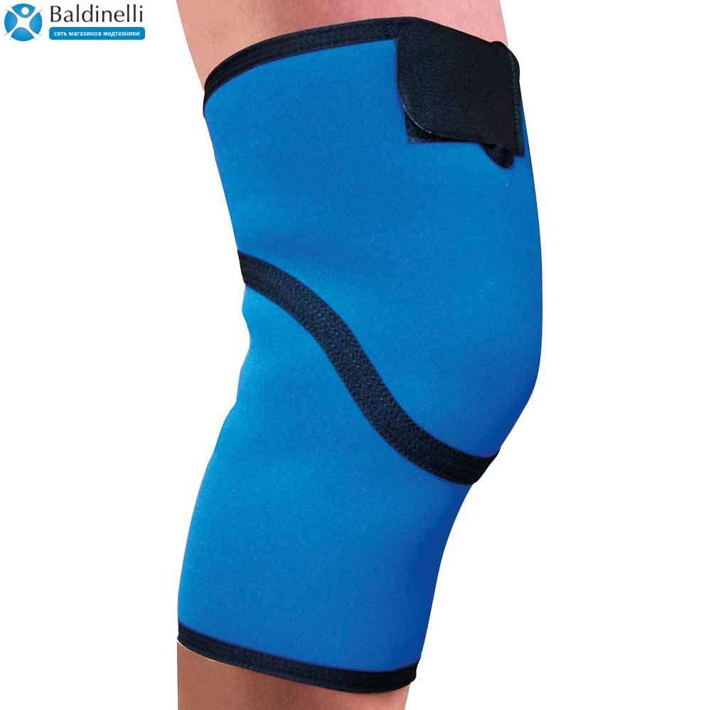 Бандаж коленного сустава неопреновый сплошной, р. 1-4, 4036-1