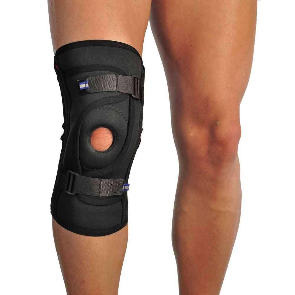 Бандаж для фиксации коленной чашечки неопреновый, р. 5-6, 4038-2