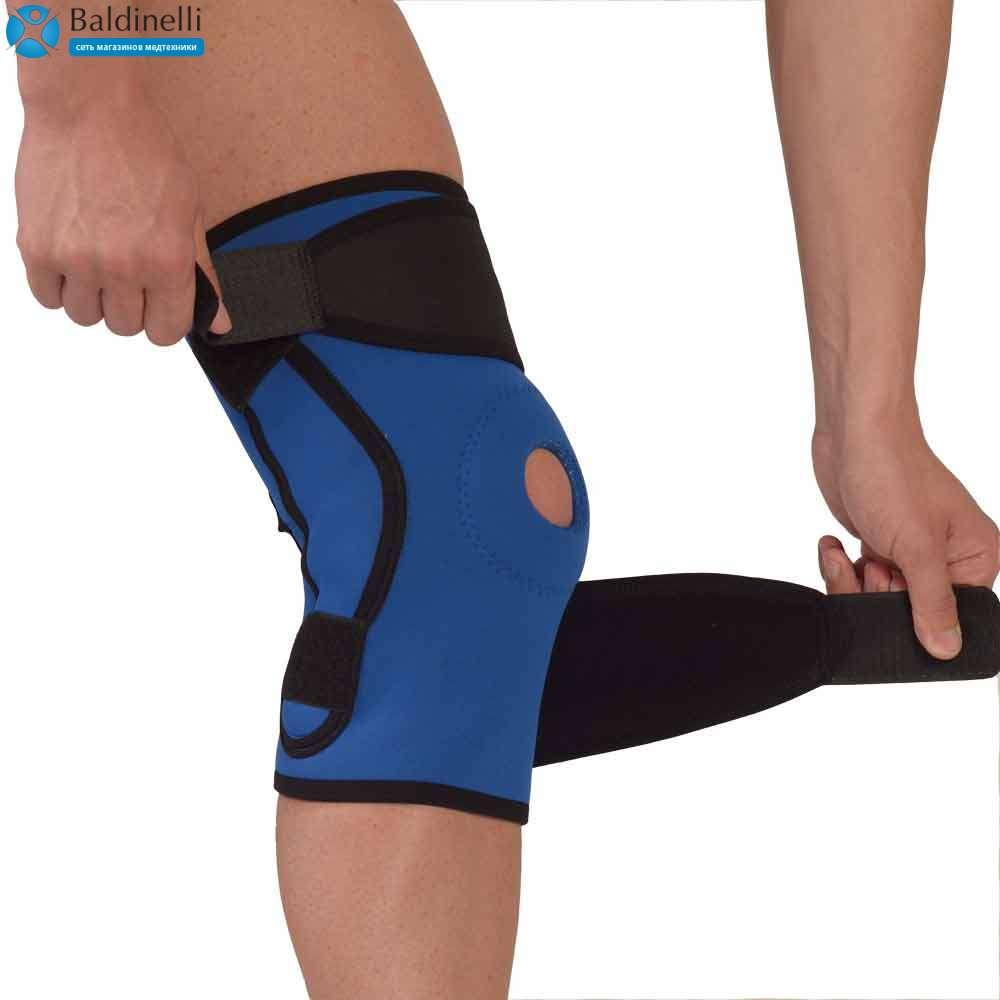 Ортез коленного сустава неопреновый с широкой окутывающей частью (размер: 3) 4053-3