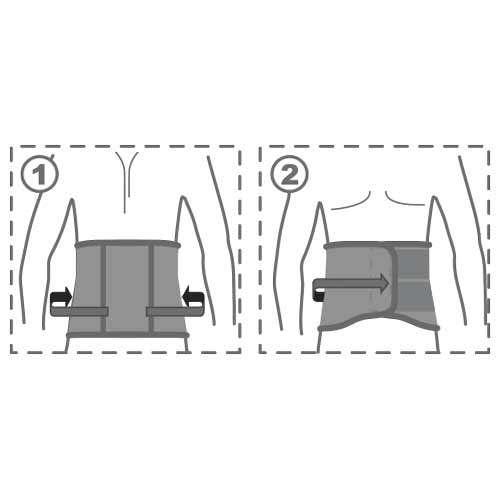 Пояс согревающий противорадикулитный, R3101