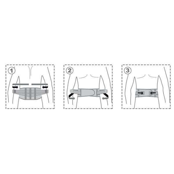 Пояс поддерживающий с почечными пелотами, R3201