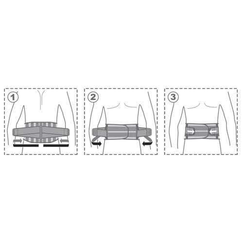 Пояс поддерживающий с ребрами жесткости, R3205