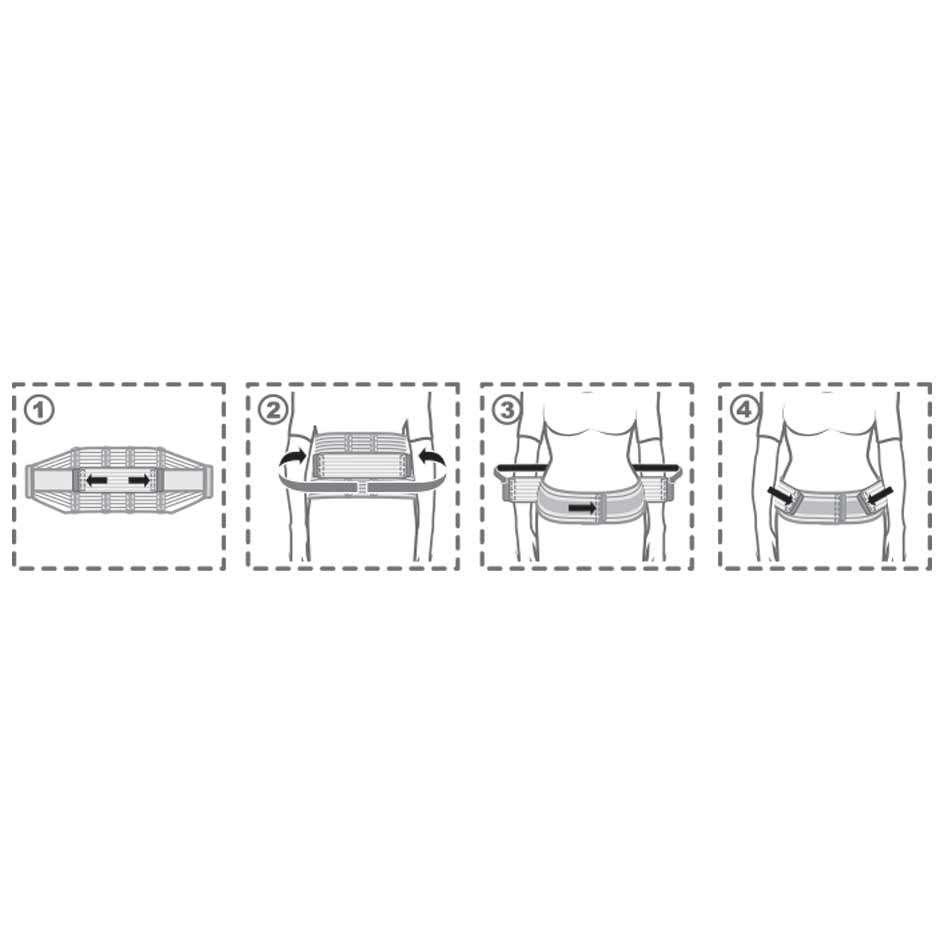 Бандаж для беременных (до- и послеродовой) эластичный, R4102