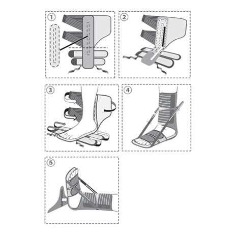 Иммобилизационная шина (деротационный сапожок), R7204
