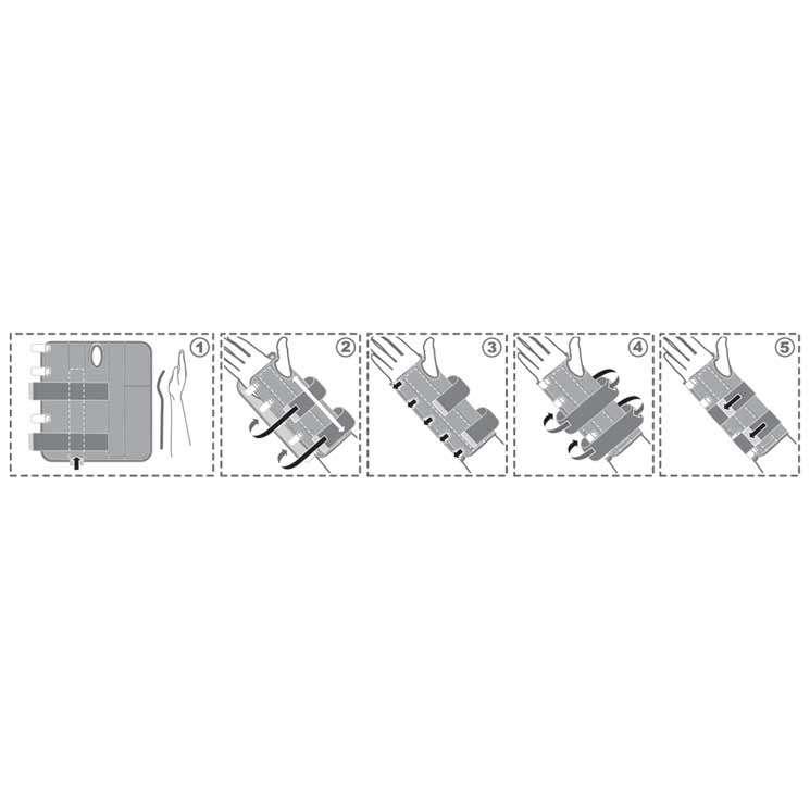 Шина на лучезапястный сустав, R8301