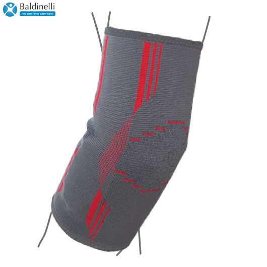 Бандаж на локтевой сустав вязанный эластичный, R9102