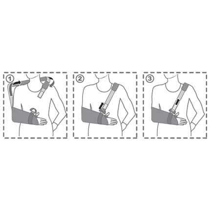 Бандаж для руки поддерживающий (косынка), R9103