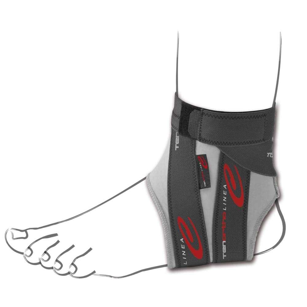 Легкий эластичный бандаж на голеностопный сустав TO4103