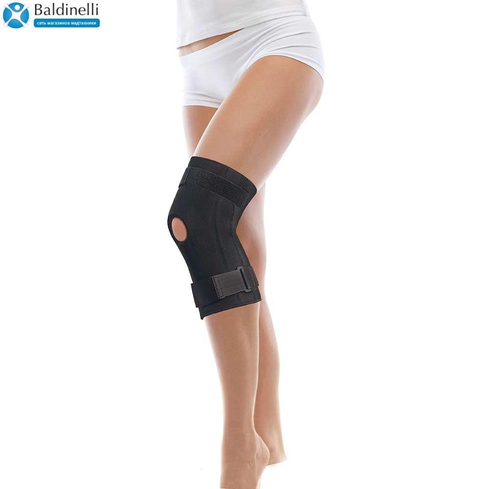 Бандаж коленного сустава с ребрами жесткости неопреновый, Tiana 511