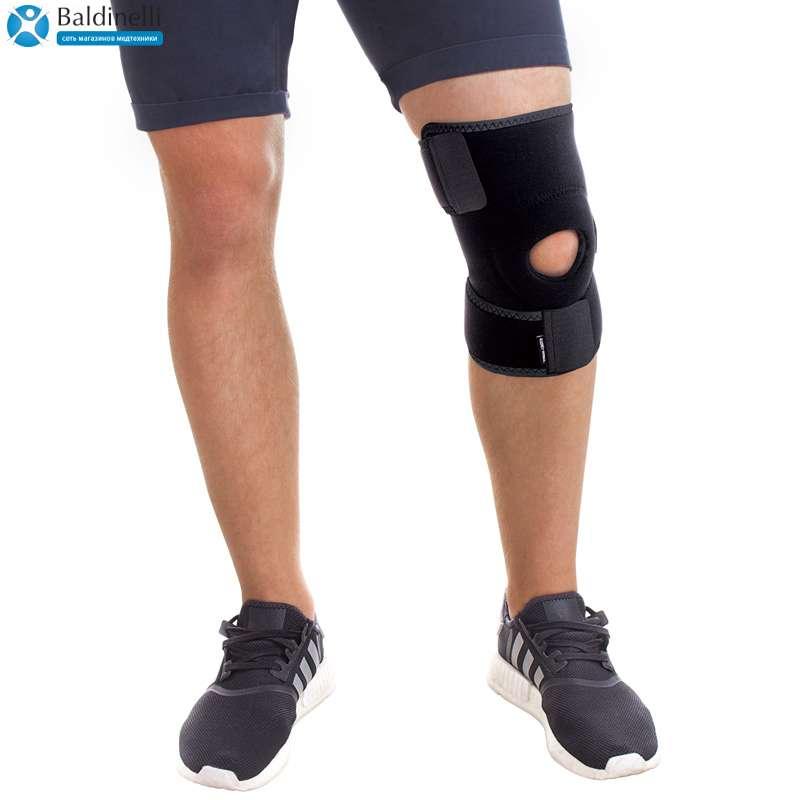 Бандаж на колено разъемный неопреновый, Tiana 515