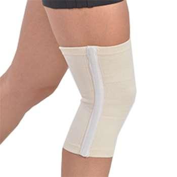 Бандаж на коленный сустав с ребрами, шерстяной Тиса, БК-1рШ