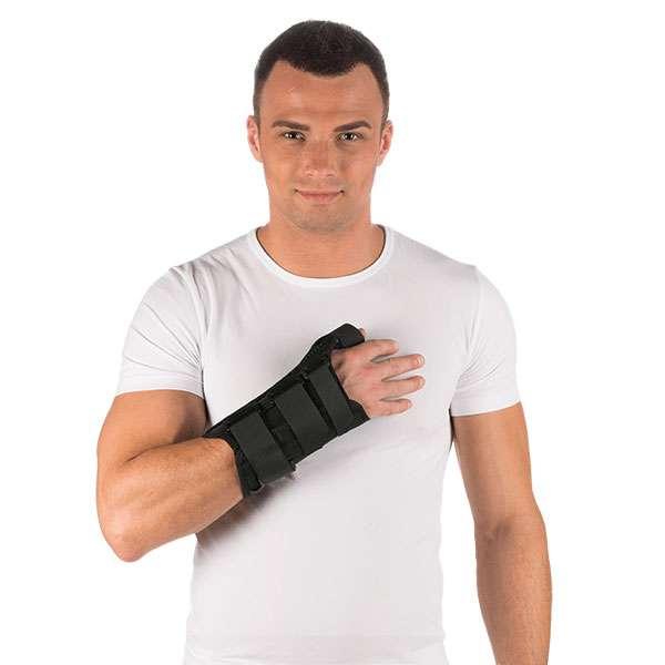 Бандаж компрессионный на лучезапястный сустав с отведением первого пальца руки Тривес, T-8309