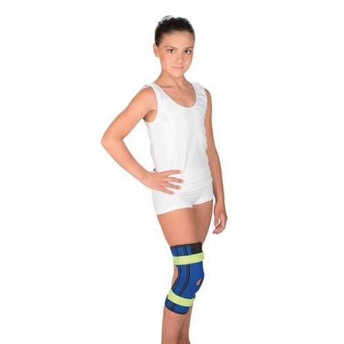 Бандаж на коленный сустав с пружинными ребрами жесткости Тривес детский, T-8530