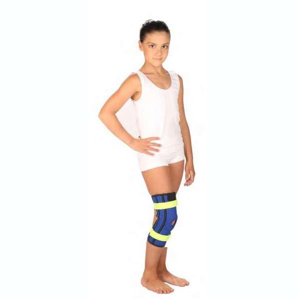 Бандаж на коленный сустав с металлическими шарнирами Тривес детский, T-8532