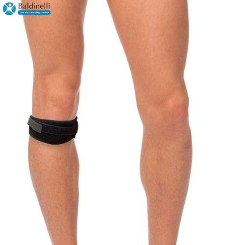 Бандаж на коленный сустав с фиксацией надколенник Тривес, T-8524