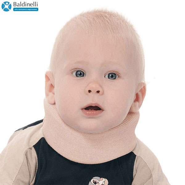 Бандаж для шейного отдела позвоночника Тривес для новорожденных 5 см, ТВ-001